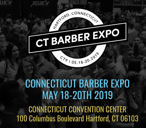 Come & See Us @ CT Barber Expo! May 19-20