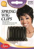 M&M Wig Clips # 1101 - Dozen - Palms Fashion