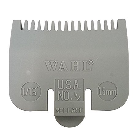Wahl Color-Coded Clipper Guide Attachment Grey #0.5 - 1/16