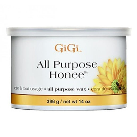 GIGI ALL PURPOSE HONEE WAX 14 OZ #0330 - Palms Fashion Inc.