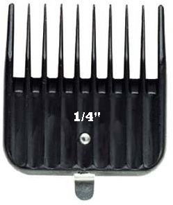 Andis Snap-On Blade Attachment Comb 1/4 # 01596