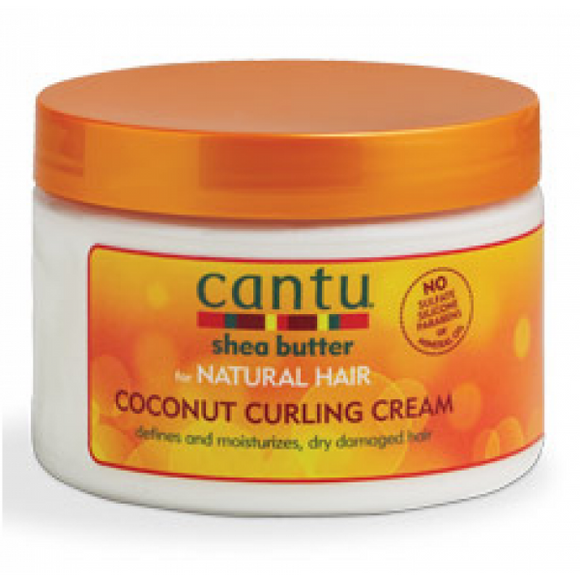 CANTU SHEA BUTTER FOR NATURAL HAIR COCONUT CURLING CREAM 12 OZ - Palms Fashion