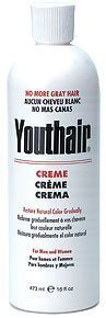 Youthair Creme for Men and Women Natural Color Gradually 16oz/473ml - Palms Fashion