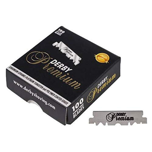 Derby Premium Single Edge Razor Blade - Palms Fashion Inc.