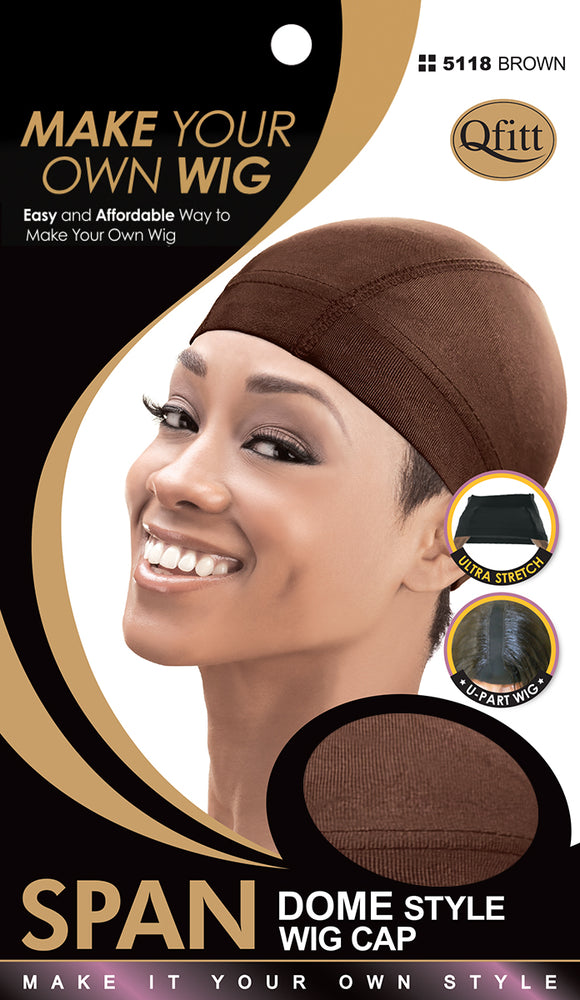M&M Spandex Dome Style Wig Cap - Dozen ( 4 Colors ) - Palms Fashion
