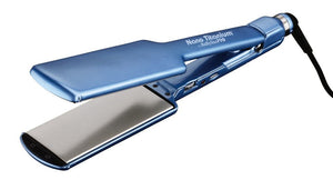 "Babyliss Pro Nano Titanium Ultra Thin Flat Iron Straightener,  2"" # BABNT3074TN - Palms Fashion"