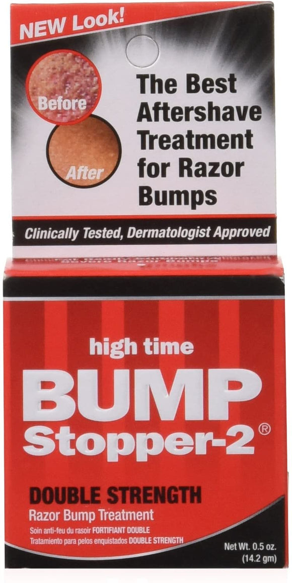 Bump Stopper-2 Razor Bump Treatment, Double Strength Formula - .5 oz - Palms Fashion Inc.