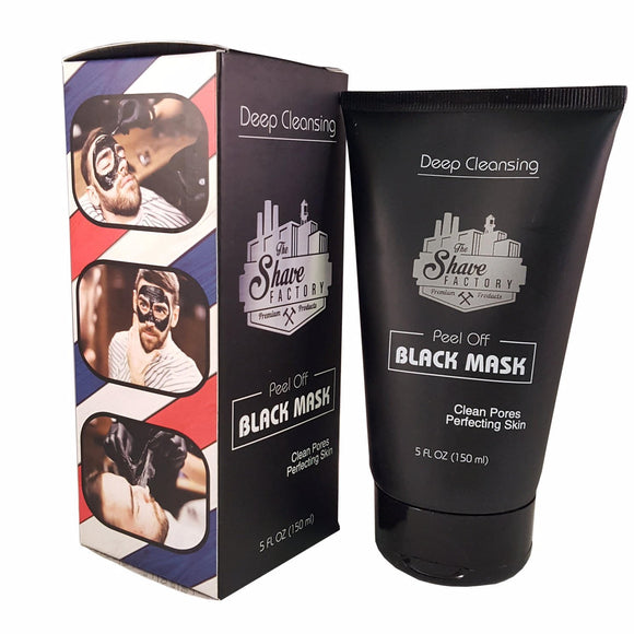 The Shave Factory Black Peel-Off Mask - Palms Fashion