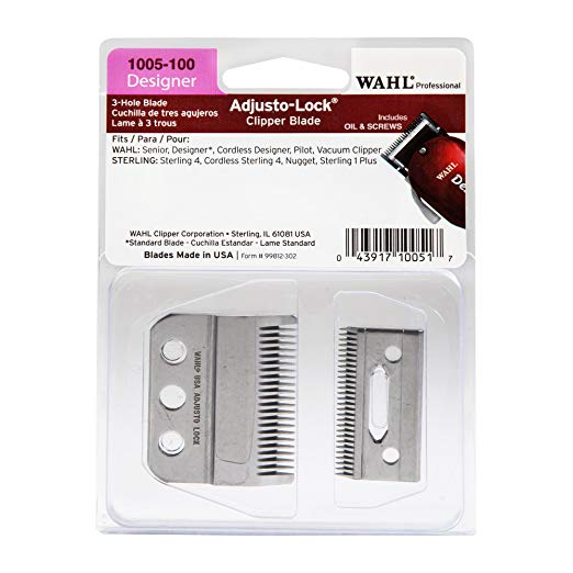 Wahl Adjusto-Lock Designer Clipper Blade #1005-100 - Palms Fashion
