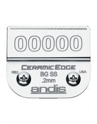 Andis CeramicEdge Detachable Blade, Size 00000 # 64730 - Palms Fashion