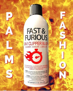 Fast & Furious 3-IN-1 Clipper Blade Spray 10oz