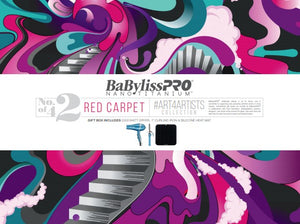 "BaByliss Pro Holiday Box 2019 - Red Carpet # BNT19H2 - Nano 1"" Curling Iron + Nano 2000 W Dryer + Silicon Mat - Palms Fashion Inc."