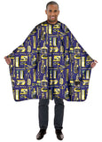 Betty Dain Barber Apparel Limited Edition Vintage Gold Styling Cape - 4 colors - Palms Fashion Inc.