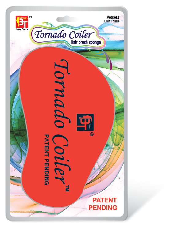 BT Tornado Coiler Hair Brush Sponge - Palms Fashion Inc.