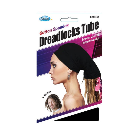 Dream Spandex Dreadlock Tube Cap # 203B - Dozen Pack - Palms Fashion