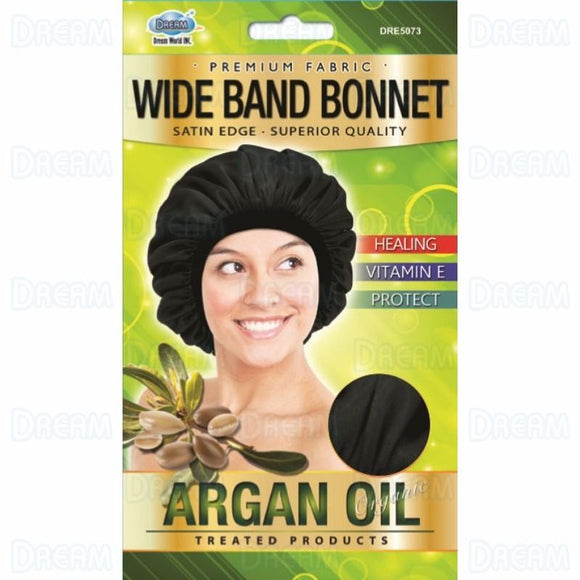 DREAM ARGAN OIL SATIN BONNET CAP - DOZEN - Palms Fashion
