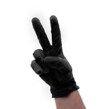 Colortrak Disposable Black Vinyl Gloves Powder Free 100 Count - S, M, L, XL - Palms Fashion Inc.