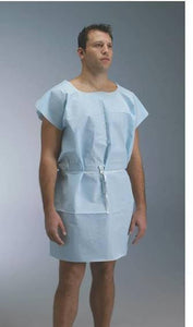 Graham Disposable Gown Blue #70229N (50 per Case) -  Limit 2 Case