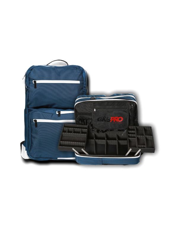 G&B PRO SINGLE MOBILE WORK STATION - NY BLUE - Palms Fashion Inc.