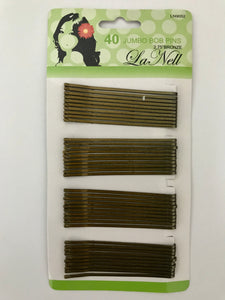 Lanell Jumbo Bob Pins Bronze - Dozen #LN9052 - Palms Fashion