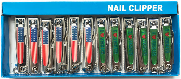 Nail Clipper - Dozen #LMIA - Palms Fashion Inc.