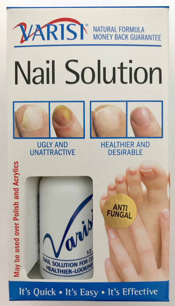 Varisi Nail Solution 0.5 Oz. - 6 Pack - Palms Fashion
