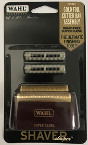 Wahl Professional 5-Star Series - Replacement Foil and Cutter Bar Assembly - Red and Gold #7031-100 - Palms Fashion