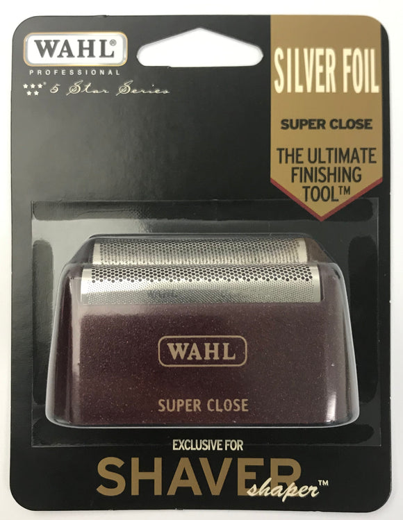 Wahl Professional 5-Star Series - Replacement Foil - Red & Silver #7031-400 - Palms Fashion