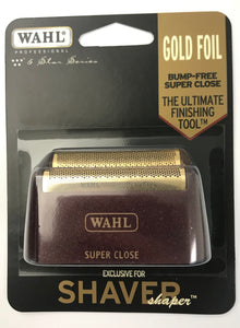 Wahl Professional 5-Star Series - Replacement Foil - Red & Gold #7031-200 - Palms Fashion