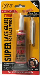 BMB Super Lace Glue Tube 1.0 fl. oz - Palms Fashion Inc.