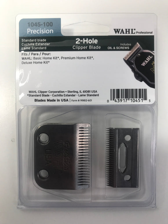 Wahl Professional Standard 2-Hole Clipper Blade Precison 1045-100 - Palms Fashion