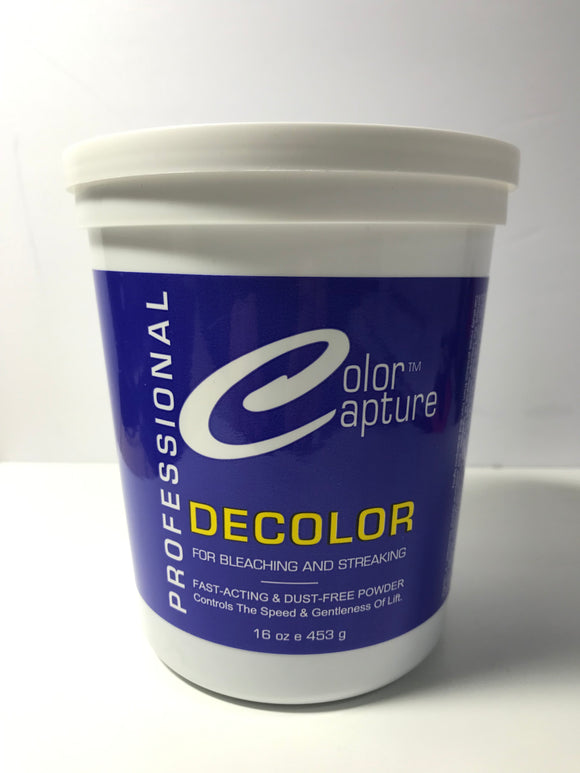 Color Capture Decolor Powder Bleach 16 oz Jar - Palms Fashion