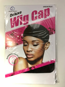 Dream World Deluxe Wig Cap - Dozen Pack - Palms Fashion