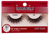 Kiss I Envy Iconic Collection lashes Chic Icon 3D - Palms Fashion
