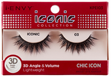 Kiss I Envy Iconic Collection lashes Chic Icon 3D - Palms Fashion Inc.