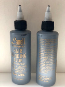 Lanell Anti-Fungus Hair Bonding Glue 4 oz - Palms Fashion Inc.