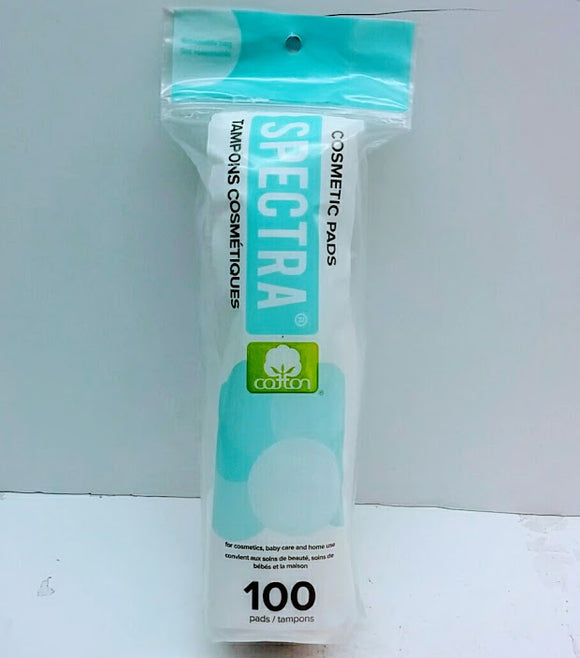 SPECTRA 100 COSMETIC PADS - Palms Fashion Inc.