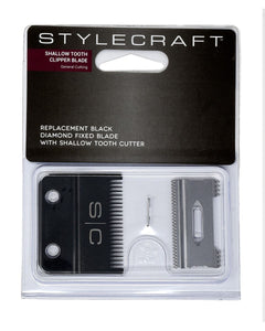 STYLECRAFT REPLACEMENT CLIPPER BLADE - SHALLOW TOOTH