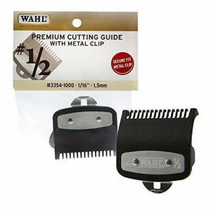 "Wahl Premium Cutting Guide with Metal Clip # 1/2- 1/16"" (1.5mm) #3354-1000 - Palms Fashion"