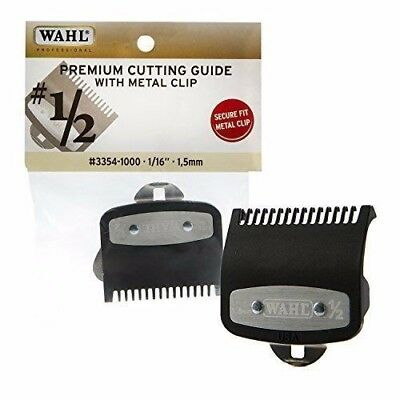 Wahl Premium Cutting Guide with Metal Clip # 1/2- 1/16