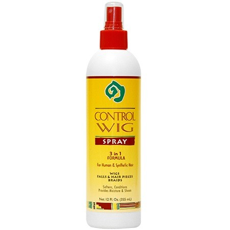 AFRICAN ESSENCE CONTROL WIG SPRAY 3 IN 1 FORMULA 12 OZ - Palms Fashion