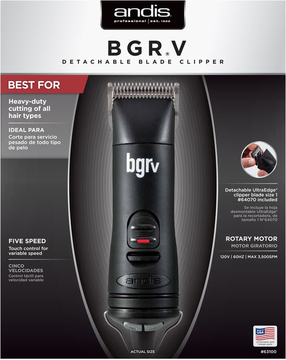 Andis BGRV Trimmer #63100 - Palms Fashion Inc.