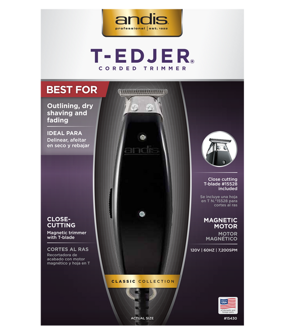 Andis T-Edjer Trimmer #15430 - Palms Fashion Inc.