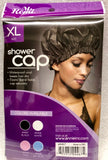 Annie Ms Remi Shower Cap Black XL #4467- Dozen Pack - Palms Fashion