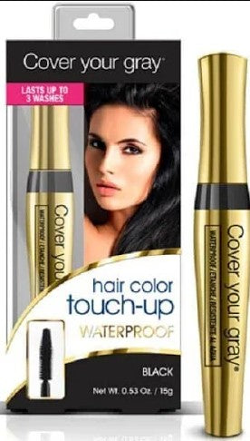 Cover Your Gray Hair Color Touch-Up, Waterproof, Dark Brown - 0.53 oz - Palms Fashion