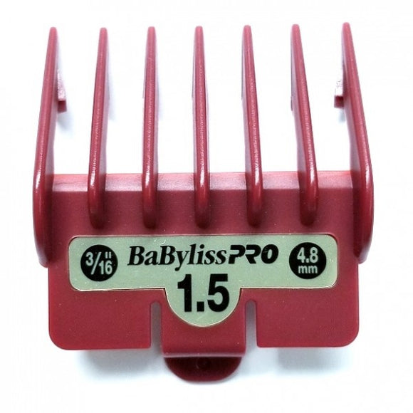 BABYLISS PRO BARBEROLOGY COMB GUIDE #1 1/2 - 3/16 INCH # BBCKT7 - Palms Fashion