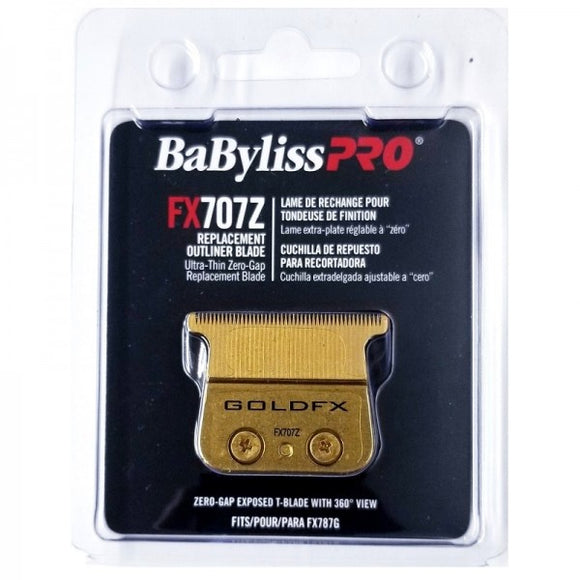 BaByliss Pro Ultra-Thin Zero-Gap Replacement Outliner Blade Fits FX787G # FX707Z - Palms Fashion
