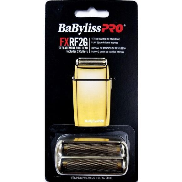 BABYLISS PRO FOILFX02 GOLD REPLACEMENT FOIL & CUTTER # FXRF2G - Palms Fashion Inc.