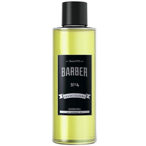 MARMARA EXCLUSIVE BARBER NO.4 EAU DE COLOGNE 500 ML - Adventurous - Palms Fashion
