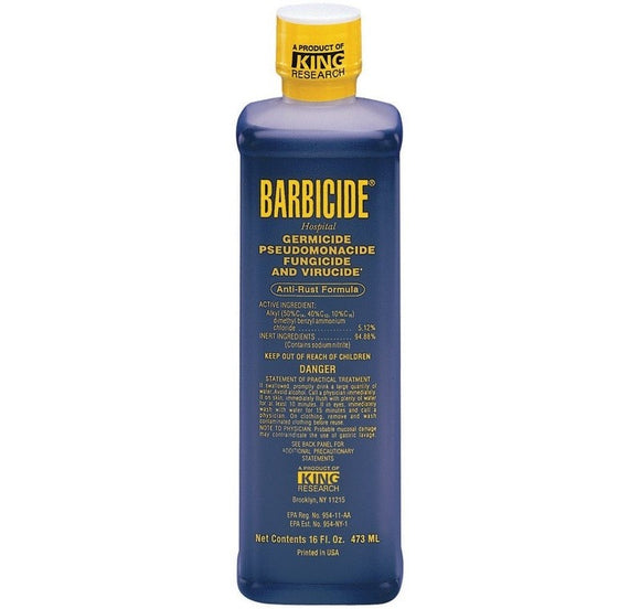 Barbicide Disinfectant Concentrate 16 oz - Palms Fashion
